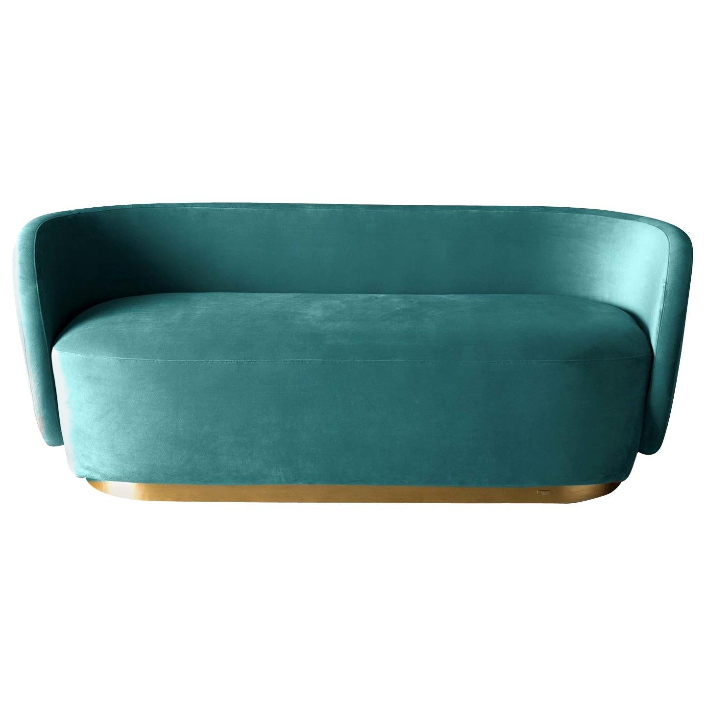 Doge Velvet Sofa by Ciarmoli Queda Studio