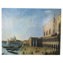 Doge's Palace Venetian Oil Painting on Canvas