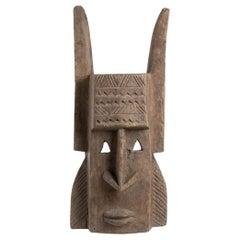 Dogon Wood Mask, Mali, 1990