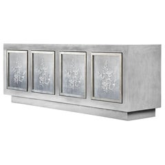 Doheny Credenza in Stone Gray by Badgley Mischka Home