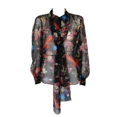 Dolce & Gabbana Fancy Silk Shirt IT38