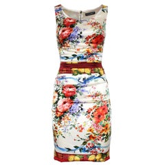 Dolce & Gabbana Floral Dress IT38