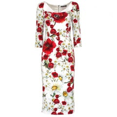 Dolce & Gabbana Long Floral Dress