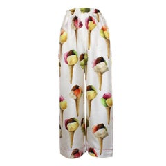Dolce & Gabbana Runway Ice Cream Pants IT40