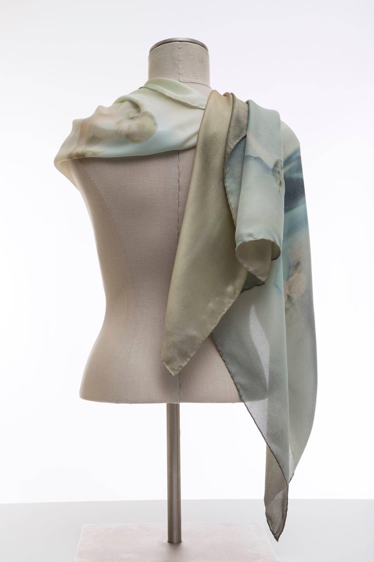 Dolce & Gabbana Stromboli Collection Printed Silk Scarf, Spring / Summer 1998 For Sale 7