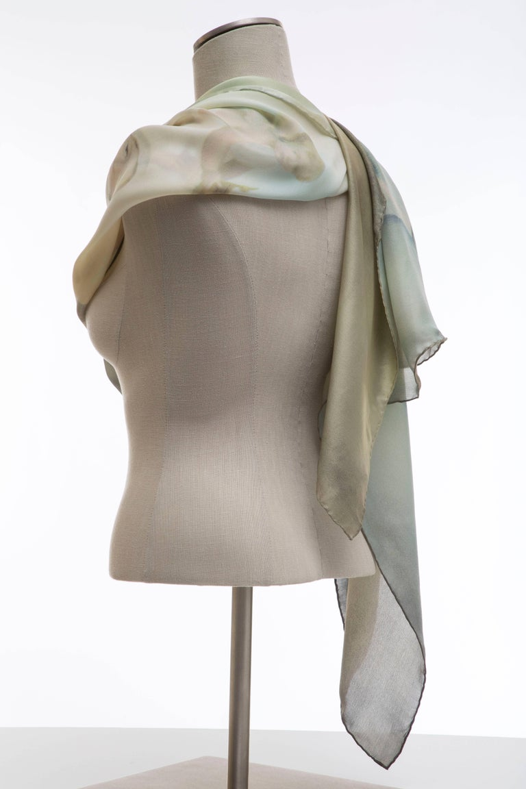 Dolce & Gabbana Stromboli Collection Printed Silk Scarf, Spring / Summer 1998 For Sale 8