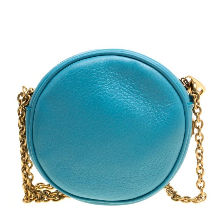 This exquisite Miss Glam round shaped crossbody bag from the fashion house  of Dolce and Gabbana 240b5a2668829