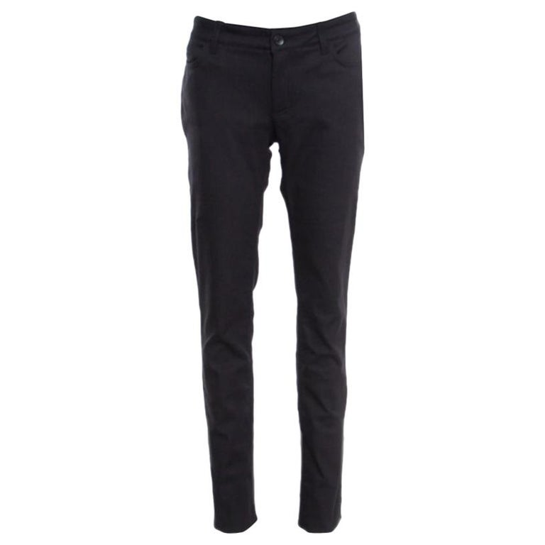 Dolce and Gabbana Cute Black Straight Fit Jeans L For Sale