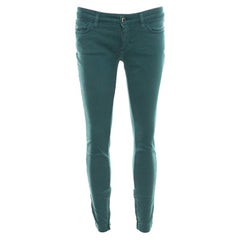 Dolce and Gabbana Green Skinny Pretty Jeans S