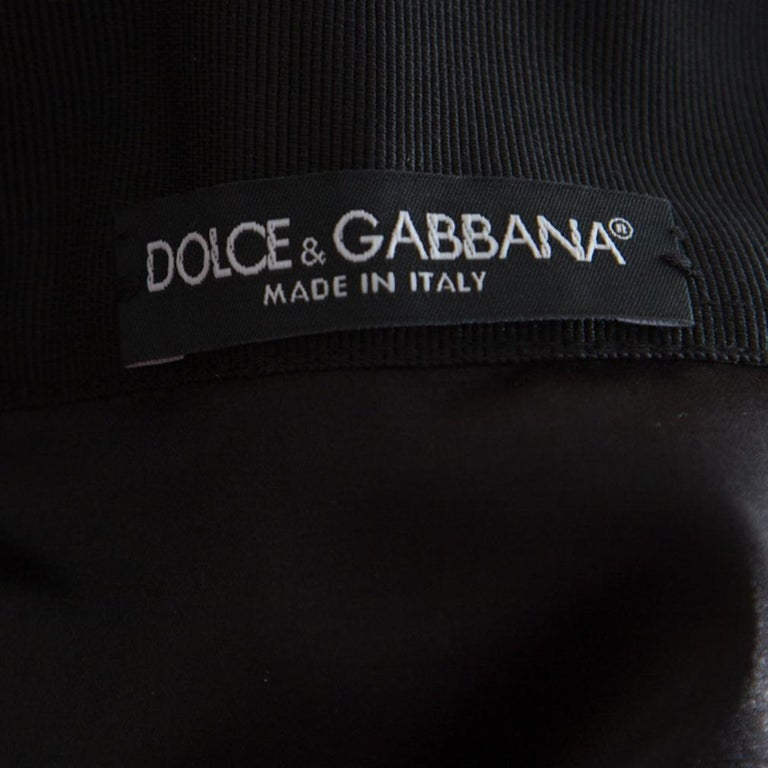 Women's Dolce and Gabbana Monochrome Marilyn Monroe Face Print Silk Pleated Skirt S For Sale