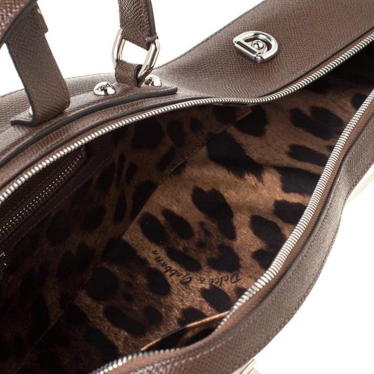 Dolce and Gabbana Multicolor Leather Mandolino Shoulder Bag For Sale 2