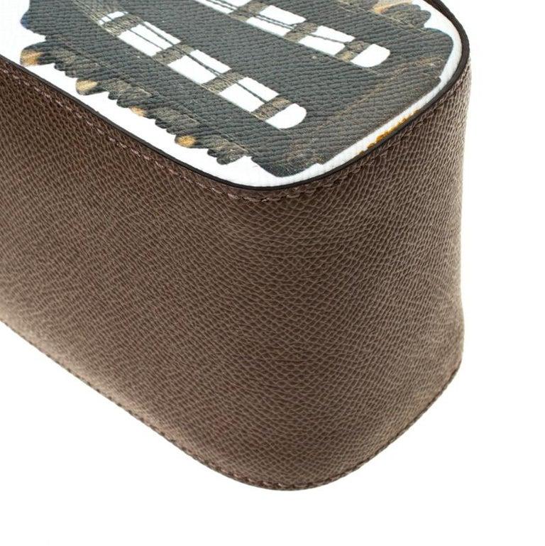 Dolce and Gabbana Multicolor Leather Mandolino Shoulder Bag For Sale 4