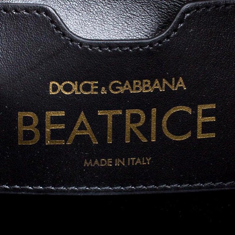 Dolce and Gabbana Pink Leather Beatrice Graffiti Shopper 6