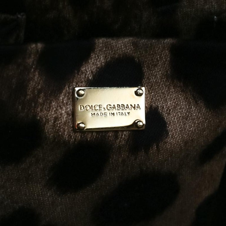 Dolce and Gabbana Red Leather Case Top Handle Bag For Sale 6