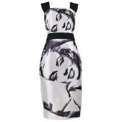 "Dolce & Gabbana 2009 ""Marilyn Monroe"" Photo Runway Dress"