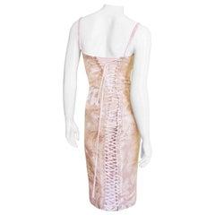 Dolce & Gabbana Back Lace up Corset Dress