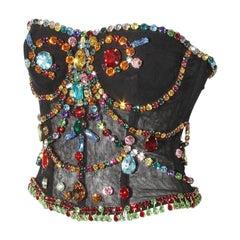 Dolce & Gabbana Bejeweled Corset Spring 2012