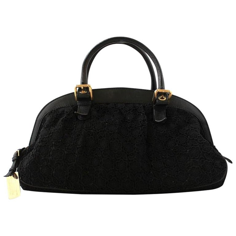 Dolce & Gabbana Black Lace Bag For Sale