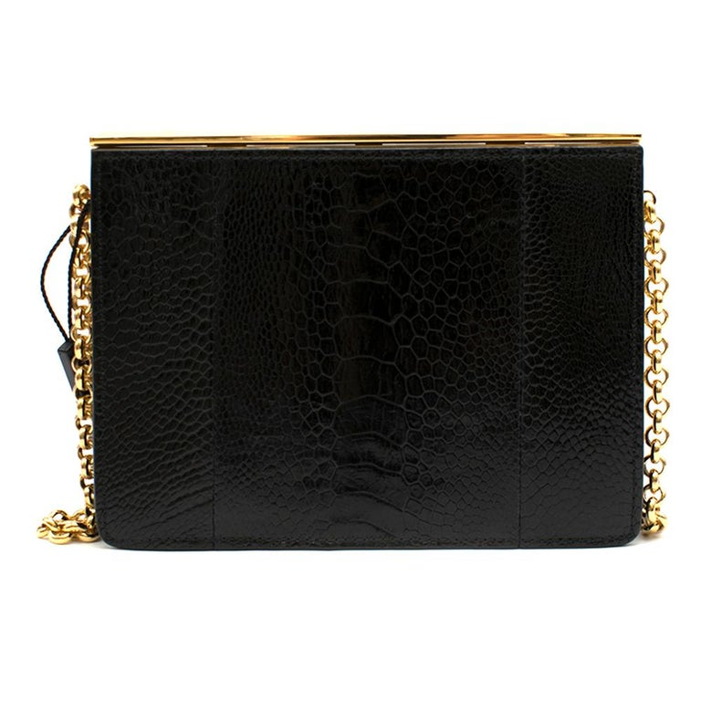 Women's Dolce & Gabbana Black  Leather Bag For Sale