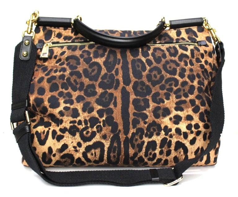Dolce & Gabbana Black Leather Monica Bag For Sale 1