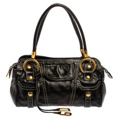 Dolce & Gabbana Black Leather Satchel