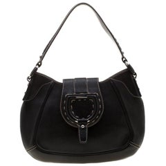 Dolce & Gabbana Black Leather Shoulder Bag