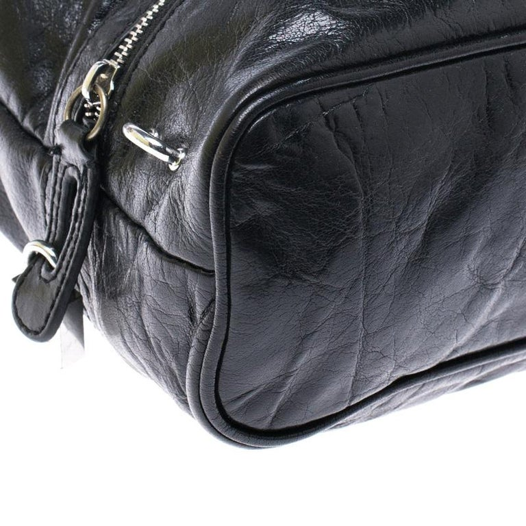 Dolce & Gabbana Black Leather Tote For Sale 4