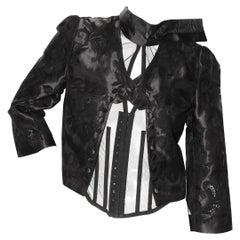 Dolce & Gabbana Brocade Corset Jacket
