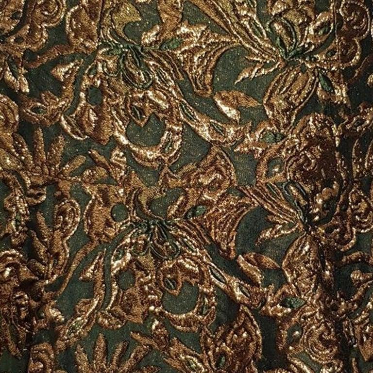 Dolce & Gabbana Brocade Skirt IT 40 In Excellent Condition For Sale In Gazzaniga (BG), IT