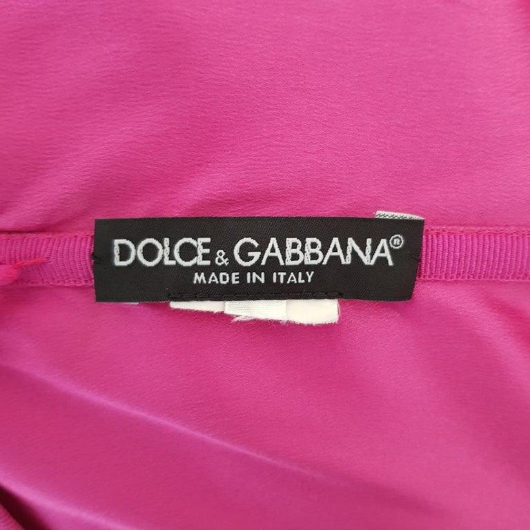 Dolce & Gabbana Cocktail Dress IT 40 For Sale 1