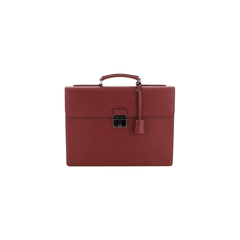 Dolce & Gabbana Dauphine Briefcase Leather  For Sale