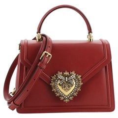 Dolce & Gabbana Devotion Top Handle Bag Leather Medium