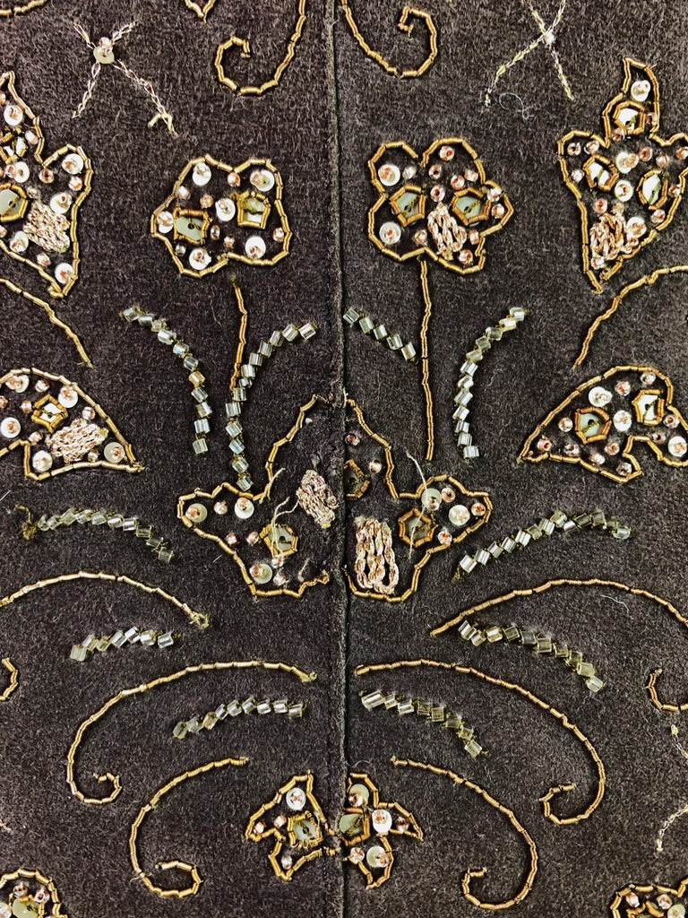Dolce & Gabbana Fall 2001 Embellished Leather Coat For Sale 6