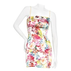 Dolce & Gabbana Floral Mini Dress Circa 2011