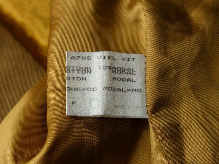 Dolce & Gabbana Gold Vest For Sale 2