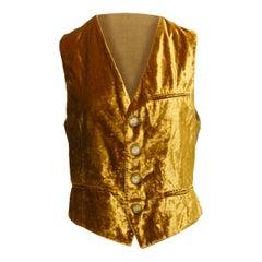 Dolce & Gabbana Gold Vest