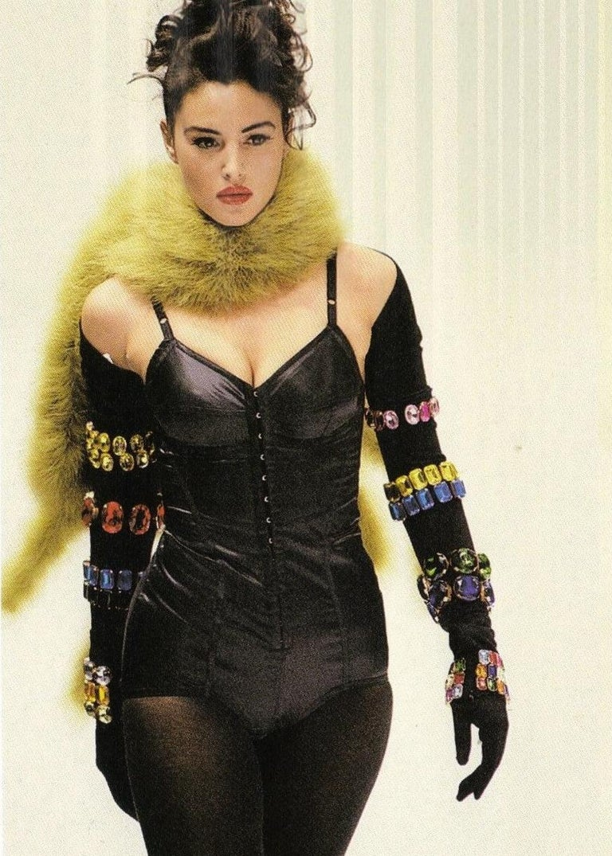Women's Dolce & Gabbana jewelled corset, mini skirt, shrug and gloves ensemble, fw 1991 For Sale