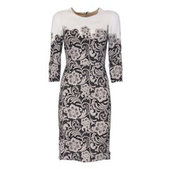 Dolce & Gabbana Lace Printed Dress IT38