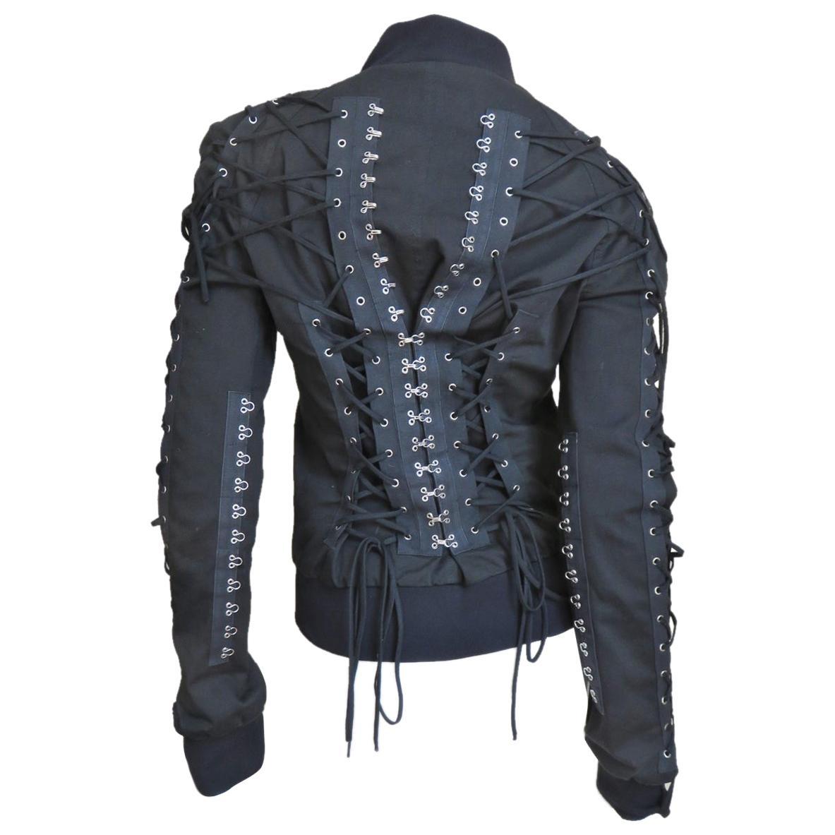 Dolce & Gabbana Lace up Jacket