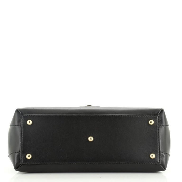 Dolce & Gabbana Lucia Top Handle Bag Leather Medium  For Sale 1