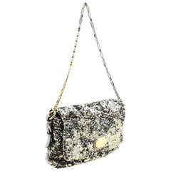 Dolce & Gabbana Miss Charles Flap Bag Sequins