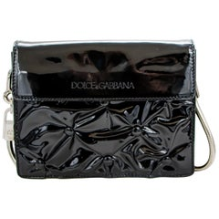 Dolce & Gabbana Miss Jolie Handbag Black Leather