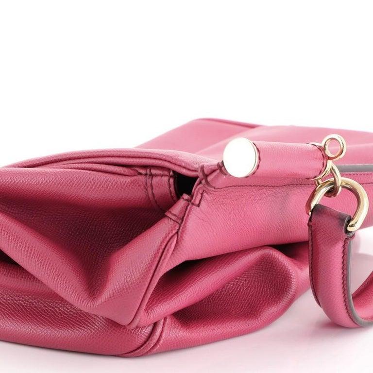 Dolce & Gabbana Miss Sicily Bag Leather Large For Sale 5