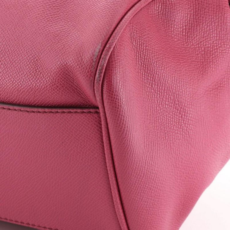 Dolce & Gabbana Miss Sicily Bag Leather Large For Sale 1
