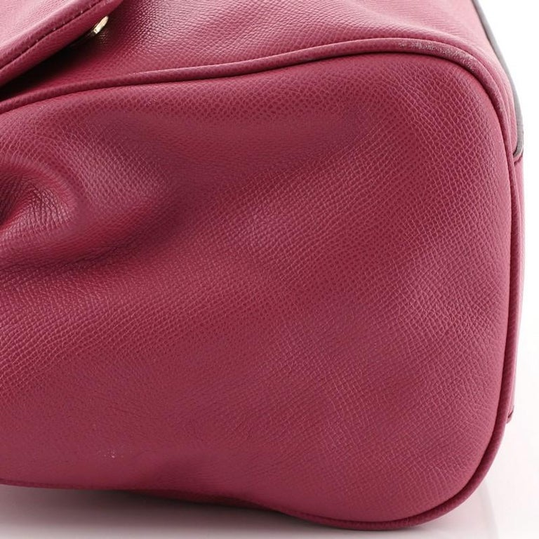 Dolce & Gabbana Miss Sicily Bag Leather Large For Sale 2