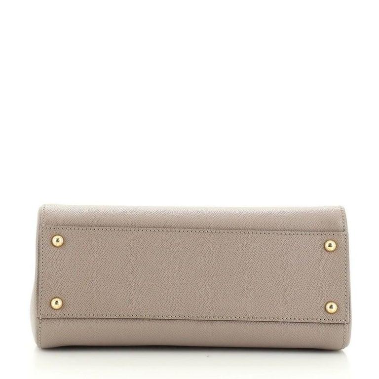 Women's or Men's Dolce & Gabbana Miss Sicily Bag Leather Medium  For Sale