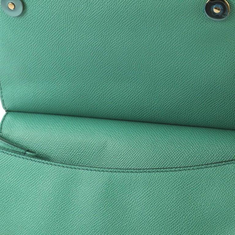 Women's Dolce & Gabbana Miss Sicily Bag Leather Medium For Sale
