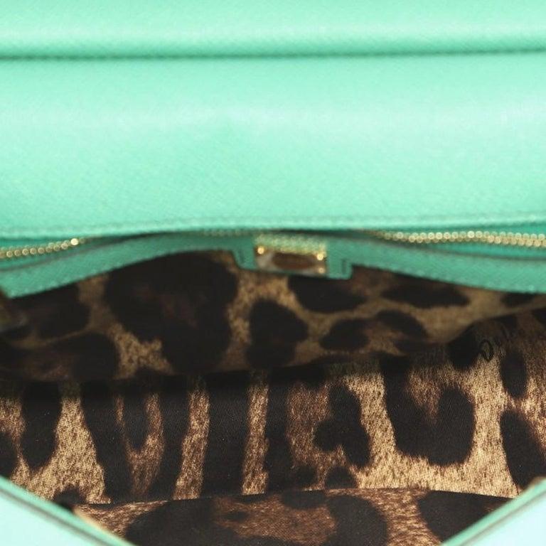 Dolce & Gabbana Miss Sicily Bag Leather Medium For Sale 1
