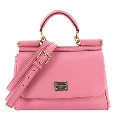 Dolce & Gabbana Miss Sicily Bag Leather Medium