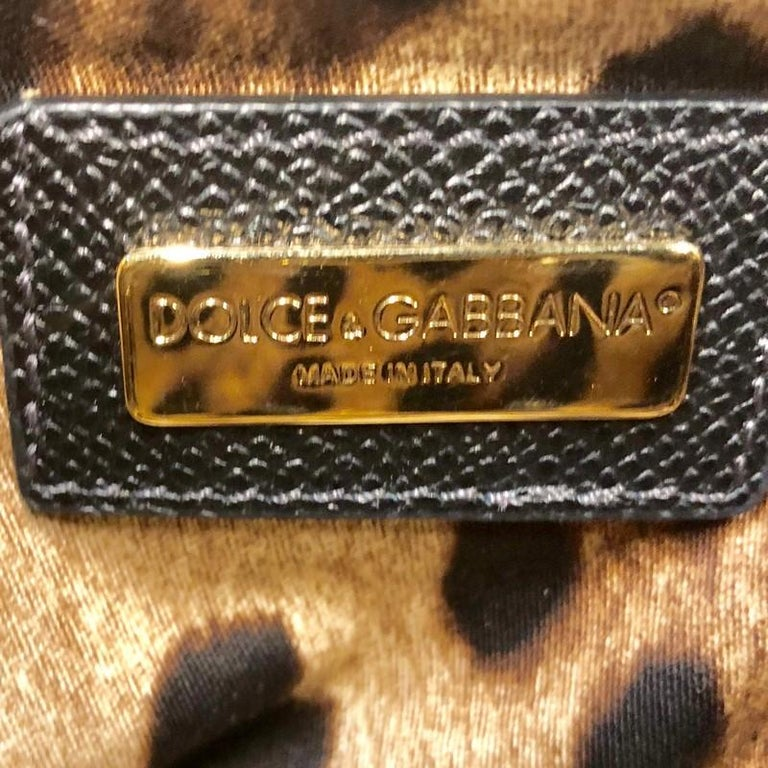 Dolce & Gabbana Miss Sicily Bag Leather Small For Sale 1